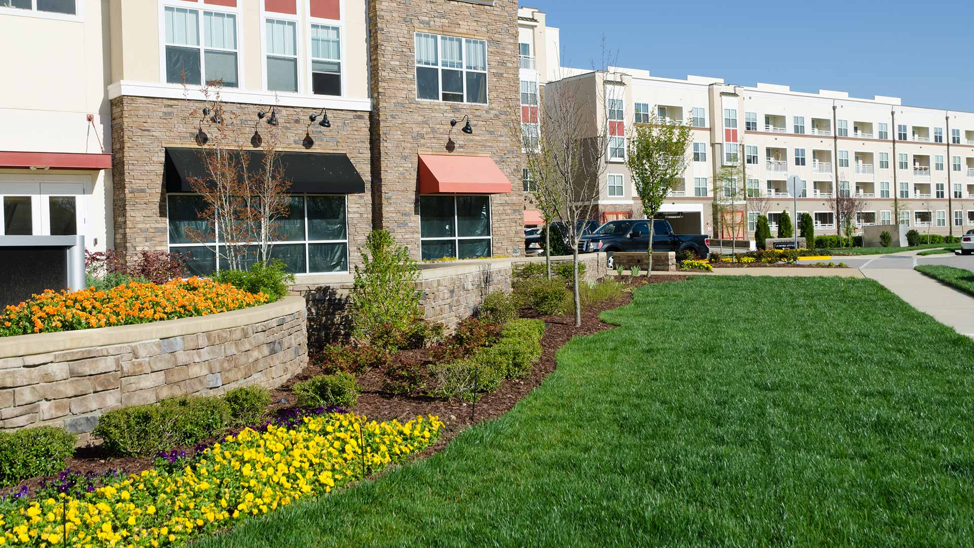 Commercial lawn care and landscaping in Macomb, MI.